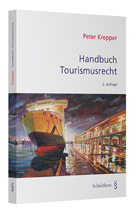 Peter Krepper: Handbuch Tourismusrecht (Buchcover)